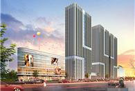 萧山南站商圈,双地铁银泰城正对面,精装跃层两房,自带综合体!