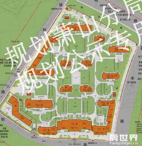 融创、龙湖两宗宅地的方案设计稿出炉