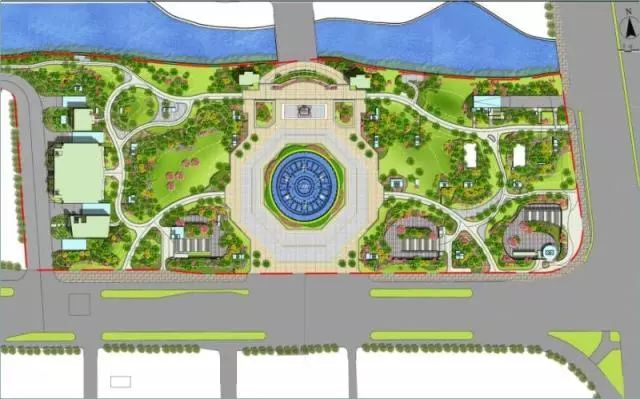 喷泉设计图效果图