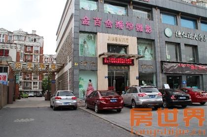阳光华庭商铺出售,朝北,1到3楼,租金60万