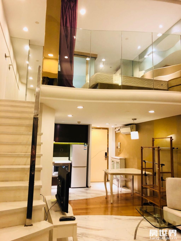 星光大道旁 汉峰公馆豪华装修一线江景品质小区 4.75米诚售